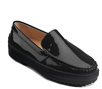 Tod's Gommini Patent Leather Driver Moccasins