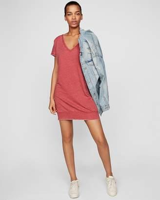 Express Petite Strappy Back London Shirt Dress