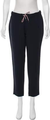 MAISON KITSUNÉ Mid-Rise Straight-Leg Pants