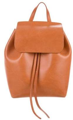 1c1ef49ddf27 Mansur Gavriel Leather Drawstring Backpack