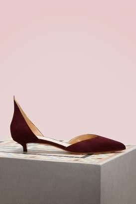 Francesco Russo Iconic d'Orsay cut low pumps