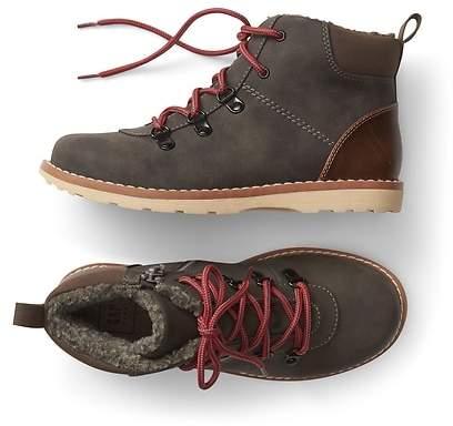 Cozy hiker boots