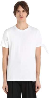 J.W.Anderson Single Knot Cotton Jersey T-Shirt