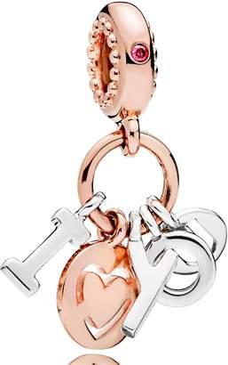 Pandora Rose I Love You Dangle Charm