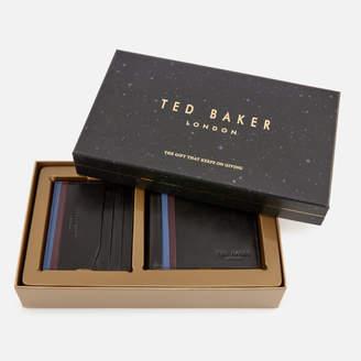 Ted Baker Men's Hooms Wallet and Cardholder Giftset - Black