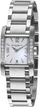 Baume & Mercier Women's 8569 Diamant Diamond Steel Watch