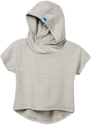Jill Yoga Crop Hoodie (Big Girls)