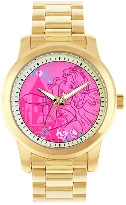 Disney Disney's Sleeping Beauty Aurora Women's Stainless Steel Watch