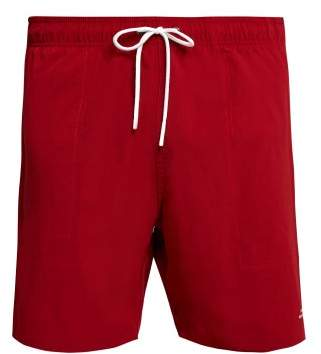 Saturdays NYC Ritchie Stretch Swim Shorts - Mens - Red