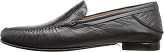 Mezlan Men's Romero Loafer, Genuine Ostrich/Soft Calfskin,US 8.5 M