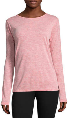 Columbia Co. Long Sleeve Crew Neck T-Shirt-Womens