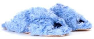Miu Miu Exclusive to mytheresa.com – faux-fur slides