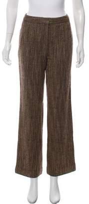 Lafayette 148 Wide-Leg High-Rise Pants