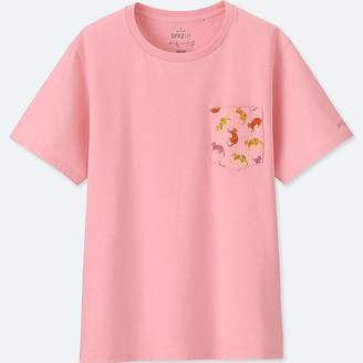 Uniqlo Women's Sprz Ny Graphic T-Shirt (andy Warhol)