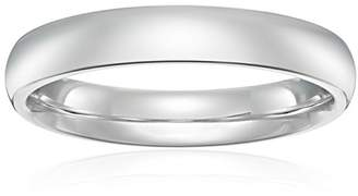 Standard Comfort-Fit 14K White Gold Band
