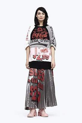 CONTEMPORARY Pleated Graphic Print Skirt