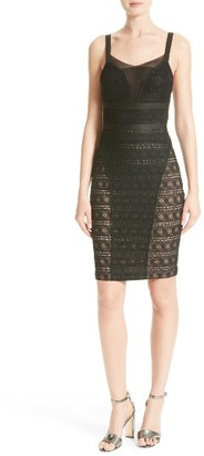 Women's Tracy Reese Stretch Lace Body-Con Dress $298 thestylecure.com