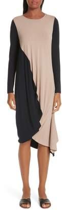 Zero Maria Cornejo Colorblock Jersey Dress