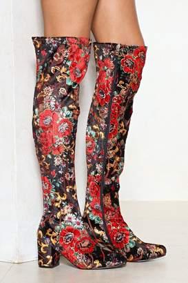 Nasty Gal Feelin' It Over-the-Knee Boot