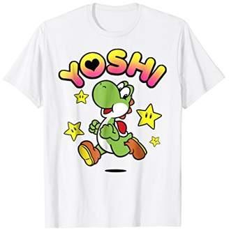Nintendo Super Mario Yoshi Star Power Sprint Graphic T-Shirt