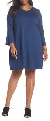 Eileen Fisher Bell Sleeve Shift Dress
