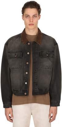Yeezy Oversize Stone Washed Denim Jacket