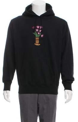Supreme 2018 Flowers Hooded Sweatshirt