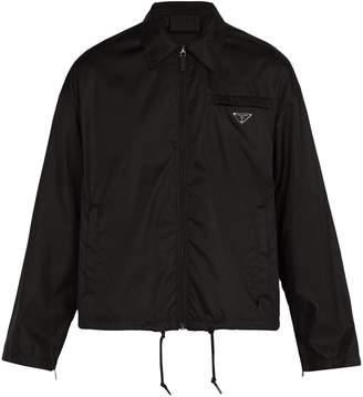 Prada Lightweight nylon coach jacket
