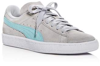Puma Women's Classic Suede Lace Up Sneakers