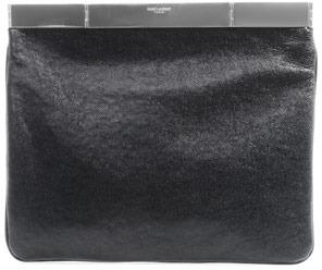 Saint Laurent Courtney leather clutch