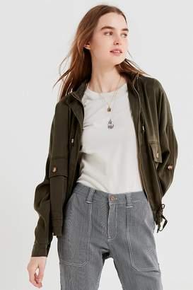 Urban Outfitters Pepita Drawstring Jacket
