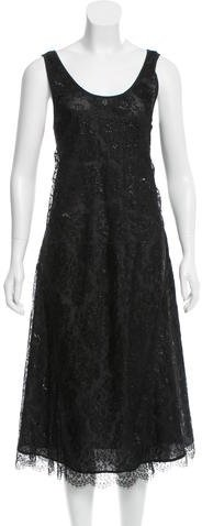 Burberry Burberry Metallic Lace Dress