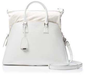 Maison Margiela 5AC Large Leather Top Handle Bag