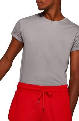 Topman Muscle Fit Roller T-Shirt