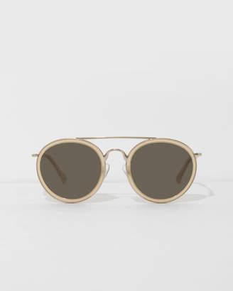 Dries Van Noten Beige Sunglasses
