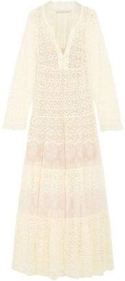Stella McCartney Erika Cotton-Blend Lace Maxi Dress