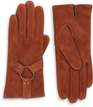 Frye Classic Lambskin Suede Gloves