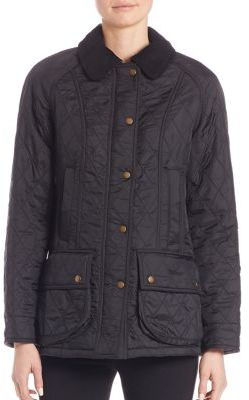 Barbour Beadnell Polarquilt Jacket $275 thestylecure.com