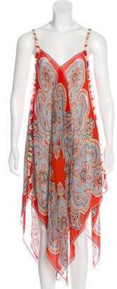 Etro Silk Damask Dress