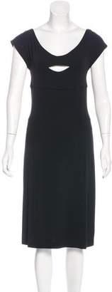 Narciso Rodriguez Midi Cutout Dress