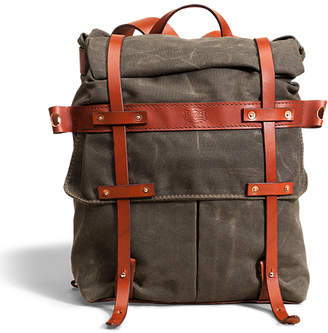 Co Orox Leather Waterproof Canvas Parva Rucksack