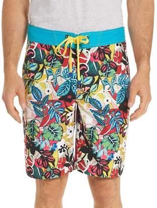 Robert Graham Barbarito Floral Board Shorts