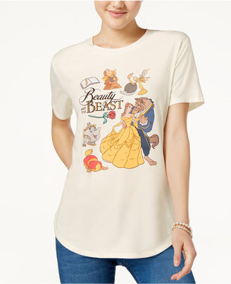Disney Beauty and the Beast Juniors' Graphic T-Shirt $24 thestylecure.com