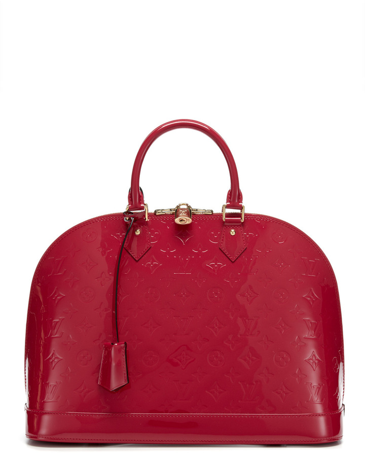 Louis Vuitton Rose Indien Monogram Vernis Alma GM