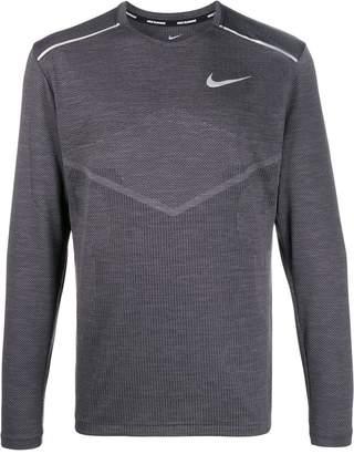 Nike contrast logo jumper