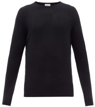 Raey - Crew Neck Cashmere Sweater - Mens - Navy