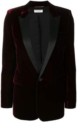 Saint Laurent Iconic Le Smoking tuxedo jacket