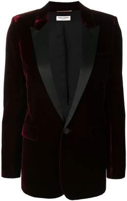 Saint Laurent Iconic Le Smoking tuxedo jacket