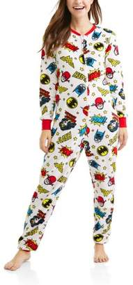 Wonder Woman Onesie for Adults with Dropseat