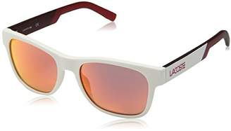 Lacoste L829snd Plastic Novak Djokovic Capsule Collection Rectangular Sunglasses